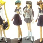 1/6 Usagi & Ami & Rei & Makoto in Schuluniform (T's System)